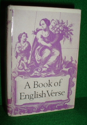 Image for A BOOK OF ENGLISH VERSE  Small / Miniature Book