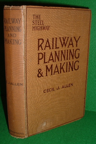 Image for RAILWAY PLANNING and MAKING